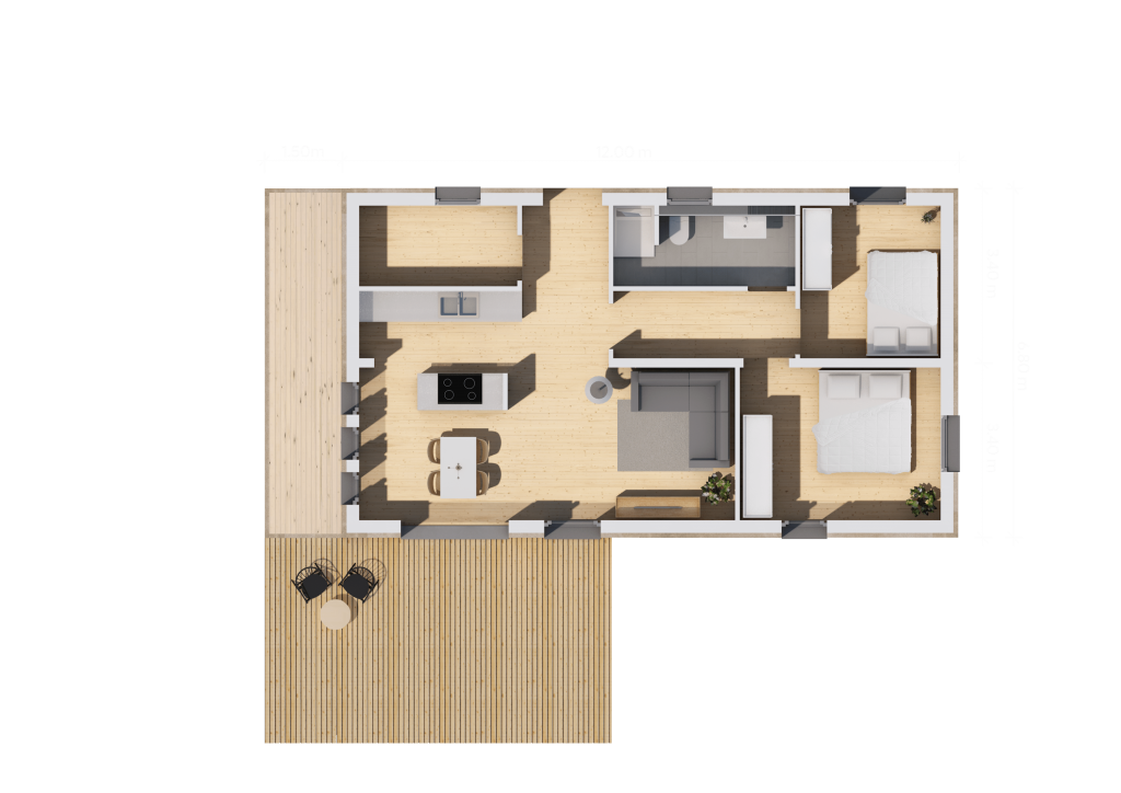 Grundriss 12m (LF Home II)