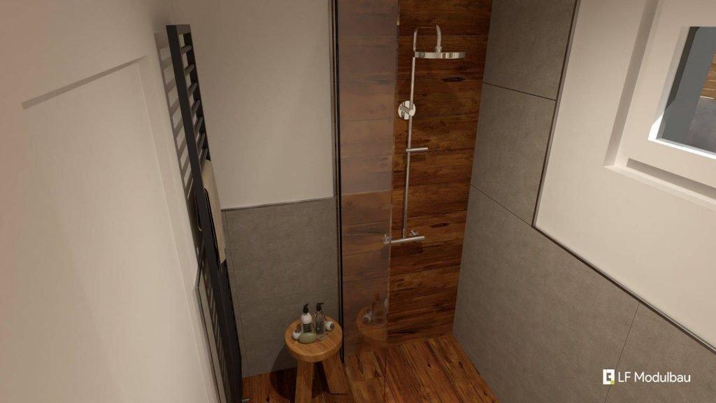 Das Bad unseres Fertighauses in modulbauweise - LF Home I