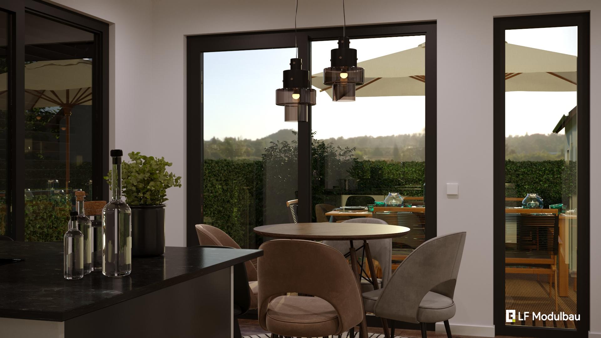 "Wohn- & Essbereich - LF Home UP II ""Classic"""